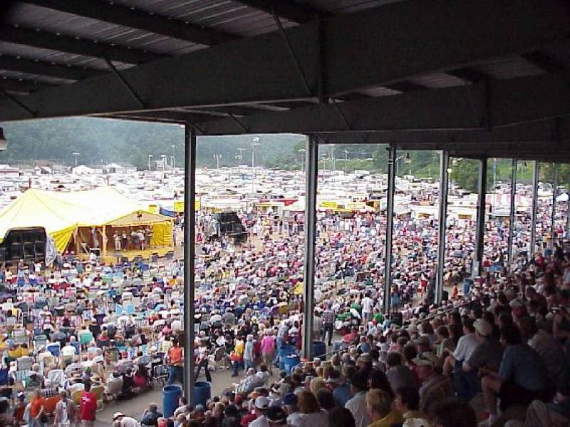The Galax Old Fiddler's Convention.